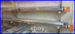 Pair of BENSON HEATING 22kwithh Commercial Industrial Radiant Tube Gas Heaters