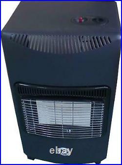 Portable 4.2KW GAS Heater Butane LPG Home Cabinet Fire Regulator and Hose