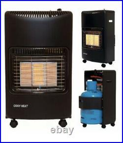 Portable Butane Gas Cabinet Heater 4.2 Kw, 4200 Watts & 3 Heat Settings