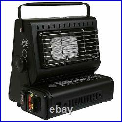 Portable Camping Gas Heater Element Safe Grill Butane Gas Carry Handle Outdoor