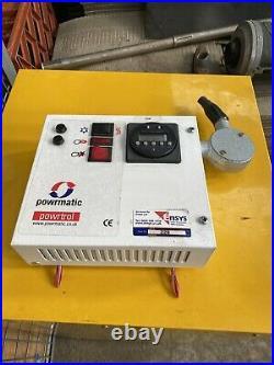 Powrmatic Powrtrol Heater Control Unit/gas Warehouse Heater
