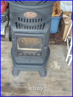 Provence 3400W Portable Gas Heater Matt Black SPARES OR REPAIR