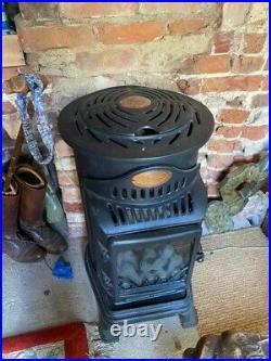 Provence Calor Gas Mobile Portable Heater Matt Black