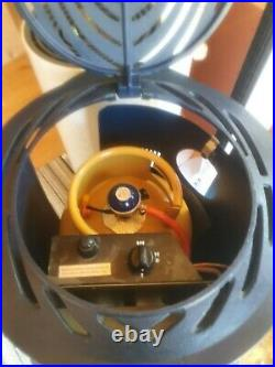 Provence navy cast iron calor gas heater