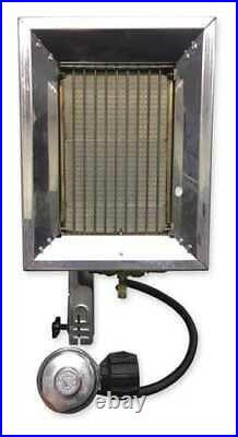 RE-VERBER-RAY P-16T Tank Top Portable Gas Heater, 16000BtuH