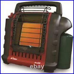Radiant Portable Propane Gas Heater Buddy Indoor Safe Camping 9000 BTU Compact