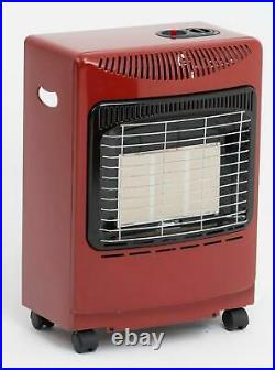 Red Mini Heat force Gas Cabinet Heater