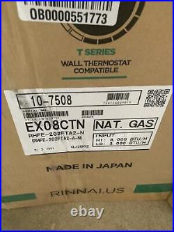 Rinnai EX08CTN 8000-BTU Wall-Mount Natural Gas Convection Heater S-11