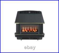 Robinson Willey Firecharm A98003 LF Electronic Convector Gas Fire Black