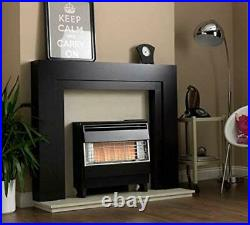 Robinson Willey Visa Highline Gas Fire Super Deluxe Black Electronic A85044