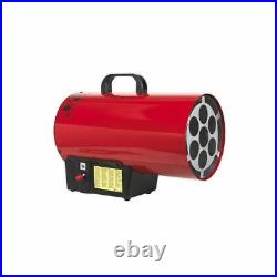 Sealey LP41 Space Warmer Propane Gas Heater 40,500 Btu/hr