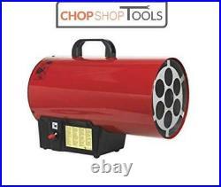 Sealey Propane Gas Blower Space Work Heater Warmer 40,500 Btu/hr LP41