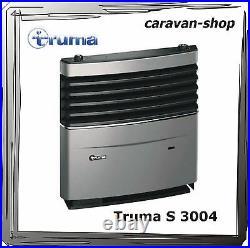 Truma S 3004 Gasheizung für Caravan, Wohnwagen mit Verkleidung titangrey / 3002