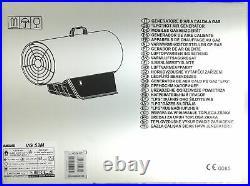 Vanguard VG 53M generatore di aria calda a gas gpl 52 Kw cannone portatile