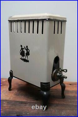Vintage Antique O'keefe & Merritt Gas Floor Heater No. 36 Dancing Couple H16
