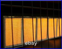 Wall Heater 18,000 BTU Infrared Vent Free Natural Gas Indoor Surface Mounted